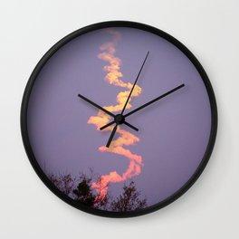 Blast off Wall Clock