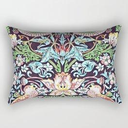William Morris - Strawberry Thief - Artwork Reproduction for Wall Art, Prints, Tshirts, Posters, Men, Women Rectangular Pillow
