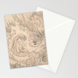 Wave by Katsushika Hokusai 1760–1849, Japanese Stationery Cards