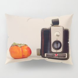 Persimmon and a Brownie Pillow Sham