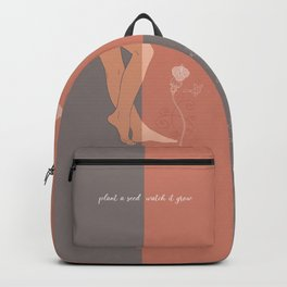 Plant a seed-Watch it grow-Mother Nature Backpack
