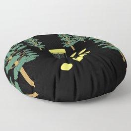 Disc Golf Stupid Trees Woods Men Women Court Gift Floor Pillow