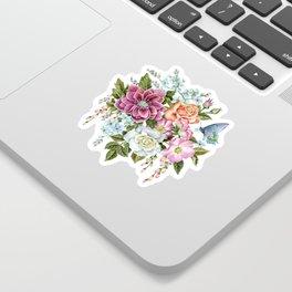Watercolor Flowers #69 Sticker