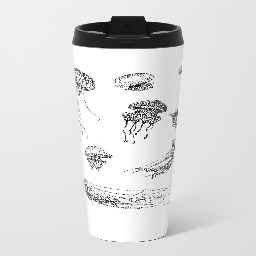 Peanut Butter & Jelly Metal Travel Mug by Gemmawallis MTM7559533