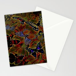 Insect Models: Beautiful Butterflies 04-03 Stationery Cards