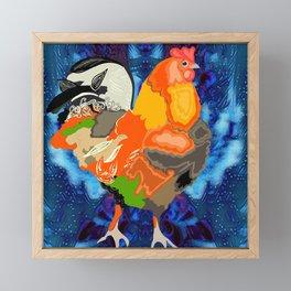 Chicken Framed Mini Art Print