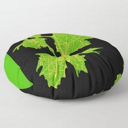 Platanus tree in Paris Floor Pillow