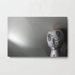art head Metal Print