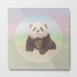 SAVE THE GIANT PANDA Metal Print