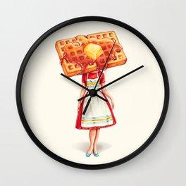 Waffle Housewife Wall Clock