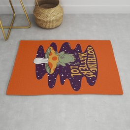 Nothing Matters Frog Rug