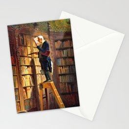 The Bookworm - Carl Spitzweg Stationery Cards