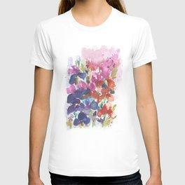 Pink Iris Splash T-shirt