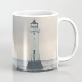 the lights will guide you home ... lighthouse photograph Coffee Mug