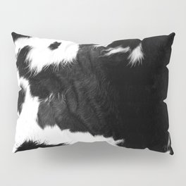 Rustic Cowhide Pillow Sham