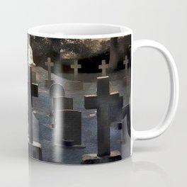 Gravestones and statue Coffee Mug