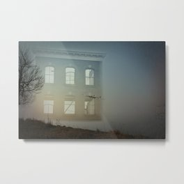 House of Empty Metal Print