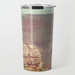 Tiny Man at the Grand Canyon Travel Mug