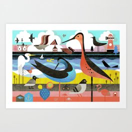 OBX Art Print