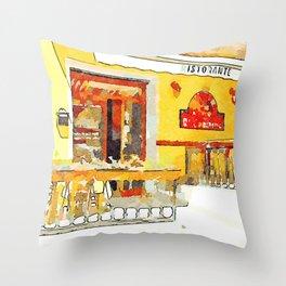 Restaurant Throw Pillow