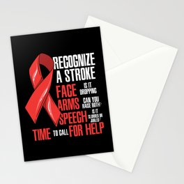 Recognize A Stroke Awareness Month Stationery Cards
