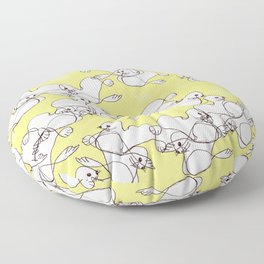 seals and sunshine Floor Pillow