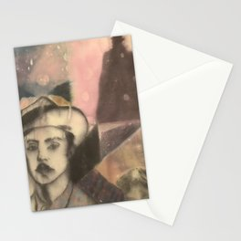 ANOTHER MYSTERY MAN Stationery Cards