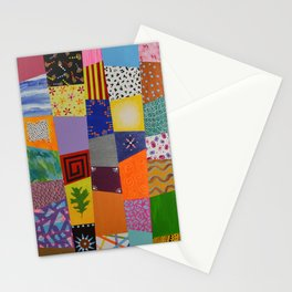 Party patchwork Stationery Cards