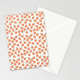 Oranges Everywhere Stationery Cards