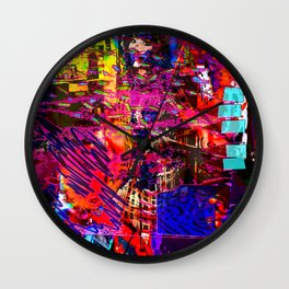 Captioned Life [Random Source Series] Wall Clock
