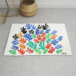 Henri Matisse - The Sheaf, Harvest Bundles of Grain Stalks portrait painting Rug