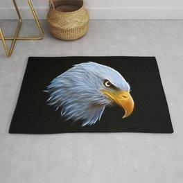 Fractal Bald Eagle Rug