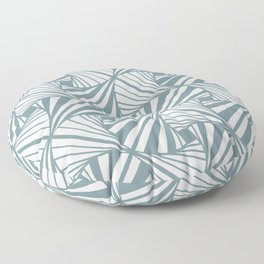 Stripes and Fans Floor Pillow