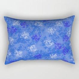 A Blue Winter Wonderland Rectangular Pillow