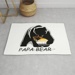 Papa Bear Bear Rug