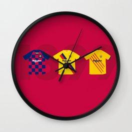 Barcelona Kits 2019/2020 Wall Clock