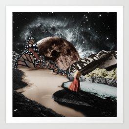 Butterflies universe Art Print