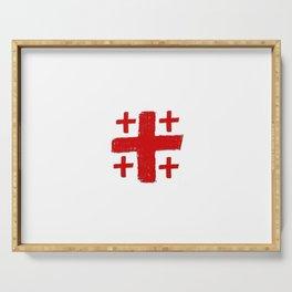 Jerusalem Cross 5 Serving Tray