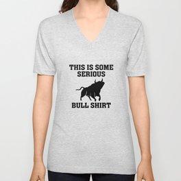 Bull Shirt Unisex V-Neck
