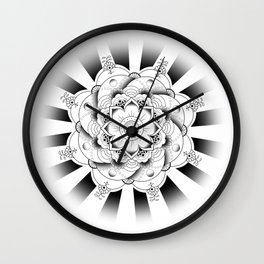 Zayn -- Mehndi Tattoo Wall Clock