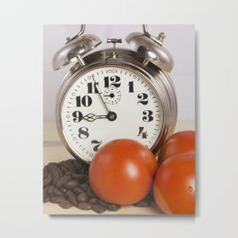 Breakfast time Metal Print