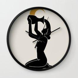 Lunar Rituals Wall Clock