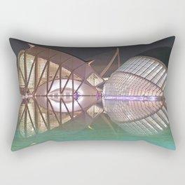 Ciudad de las Artes y las Ciencias. Valencia Rectangular Pillow