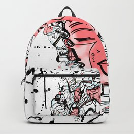 Gypsy Soul Feel Good Abstract Doodle Backpack