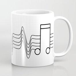 Music Beat Coffee Mug