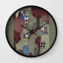 Rooftop Concert Wall Clock