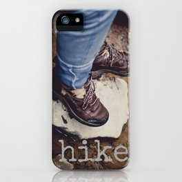 Hike iPhone Case