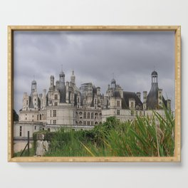 Castle of Chambord France Serving Tray