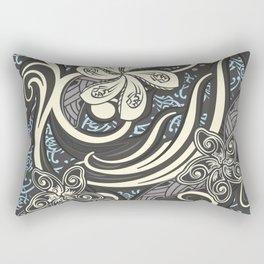 Vintage Polynesian Tribal Threads Rectangular Pillow