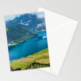 Tarsar Lake 4k Tar Sar indian landmarks mountans Kashmir Valley Aru Asia India Stationery Cards